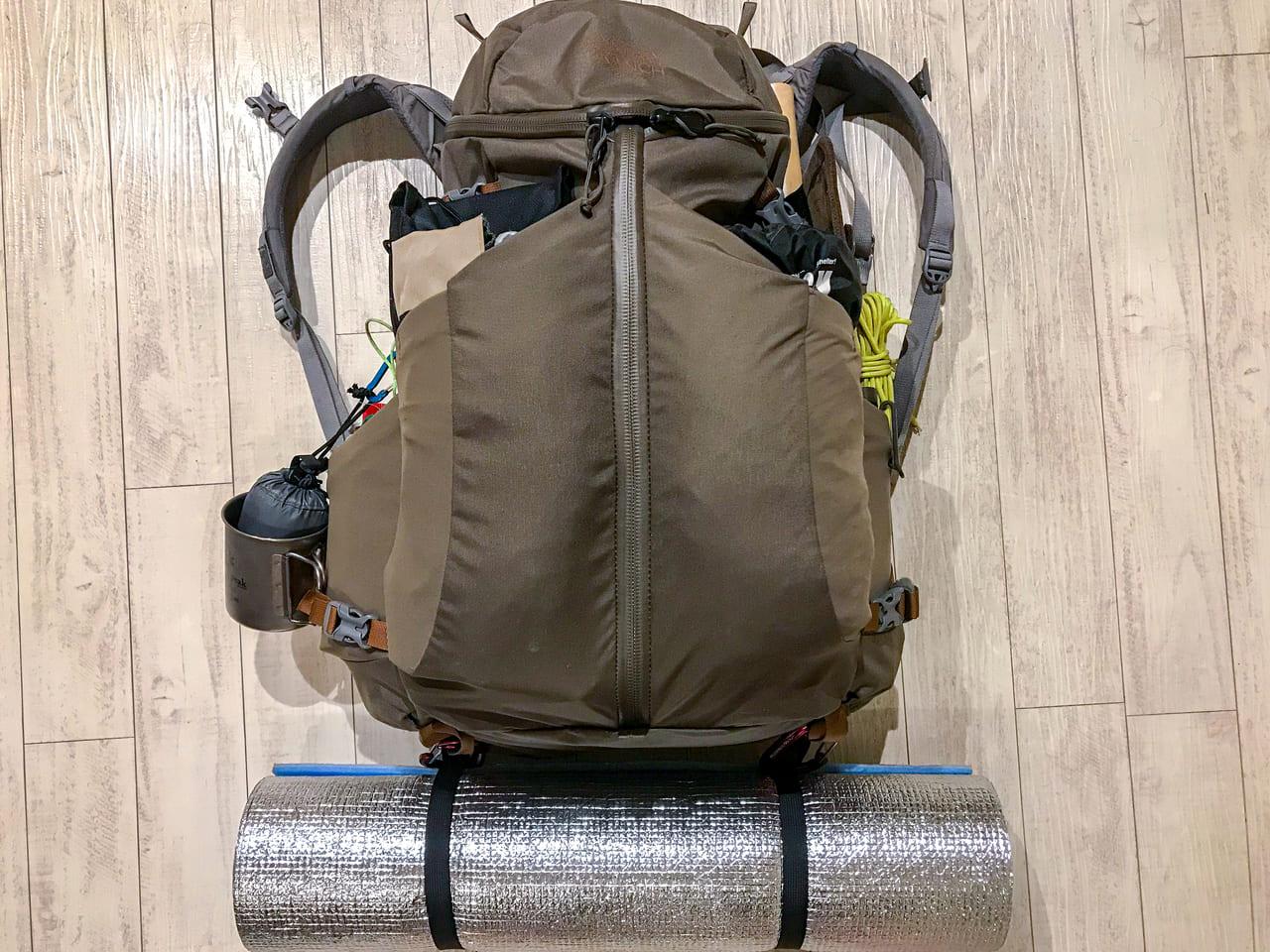 /ソロキャンプにおすすめのバックパック