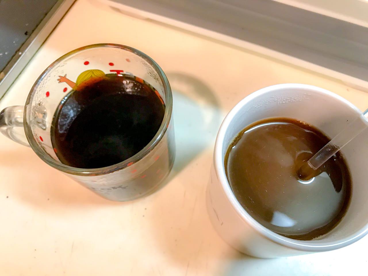 /チョコレートの方は中々溶けないのでよくかき混ぜる