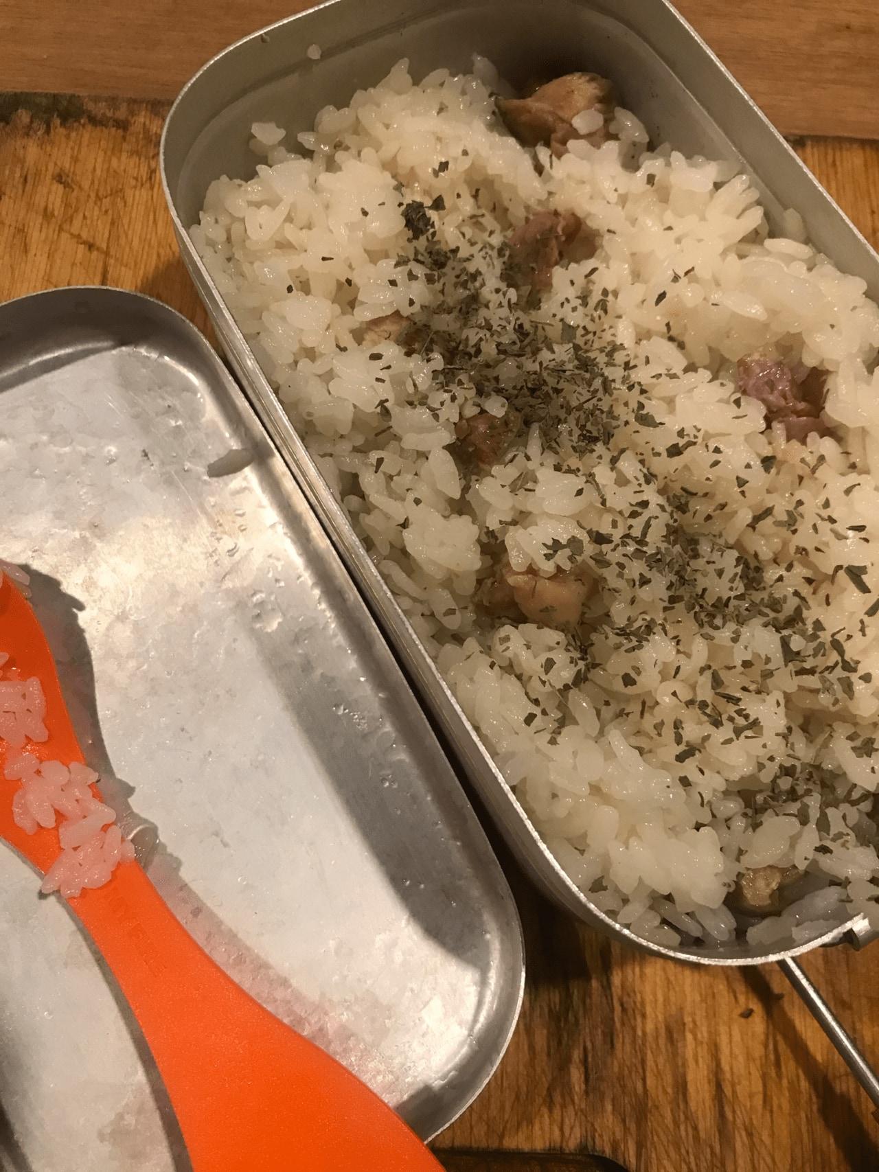 メスティンで作る簡単カオマンガイ