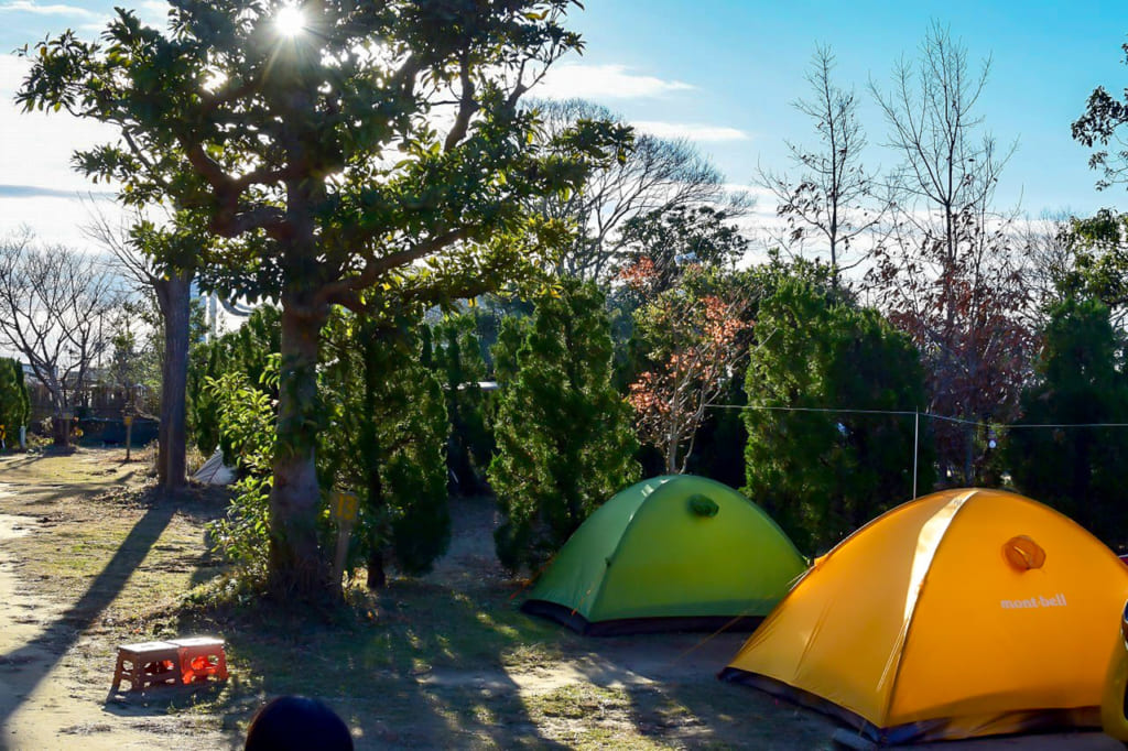 /二つのテントが並んでいる光景-1024x682