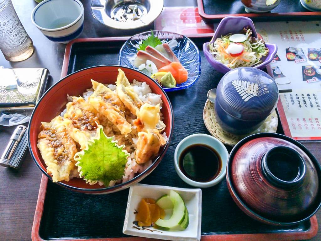 /佐久間の食べた穴子天丼-1024x768