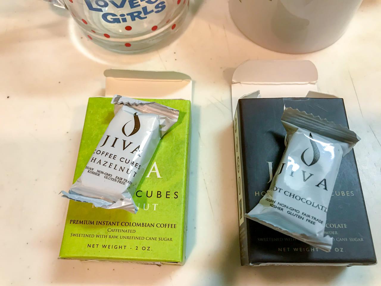 /個包装されたJIVAのコーヒーキューブ
