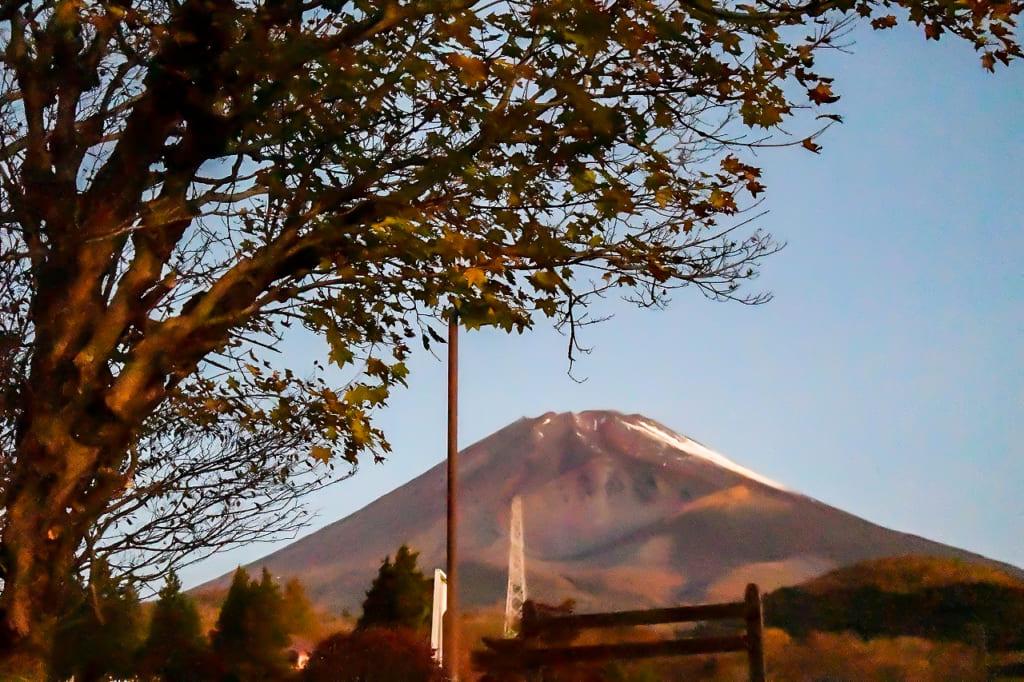 冬の日に見える富士山-1024x682
