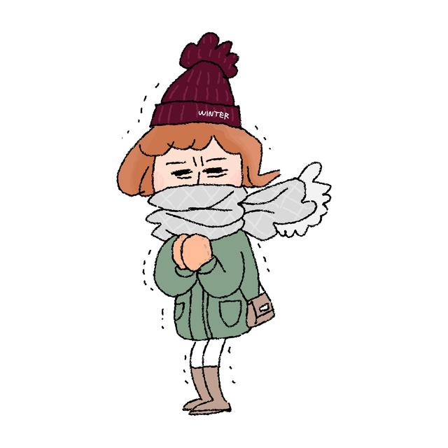 /冬キャンプはとにかく寒い