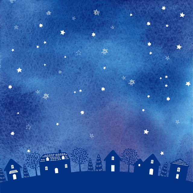 /冬キャンプは星が綺麗