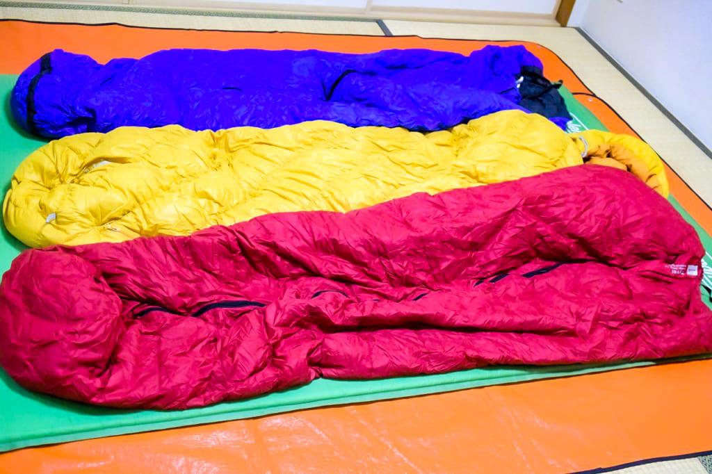 初めての冬キャンプで使った寝具-1024x682