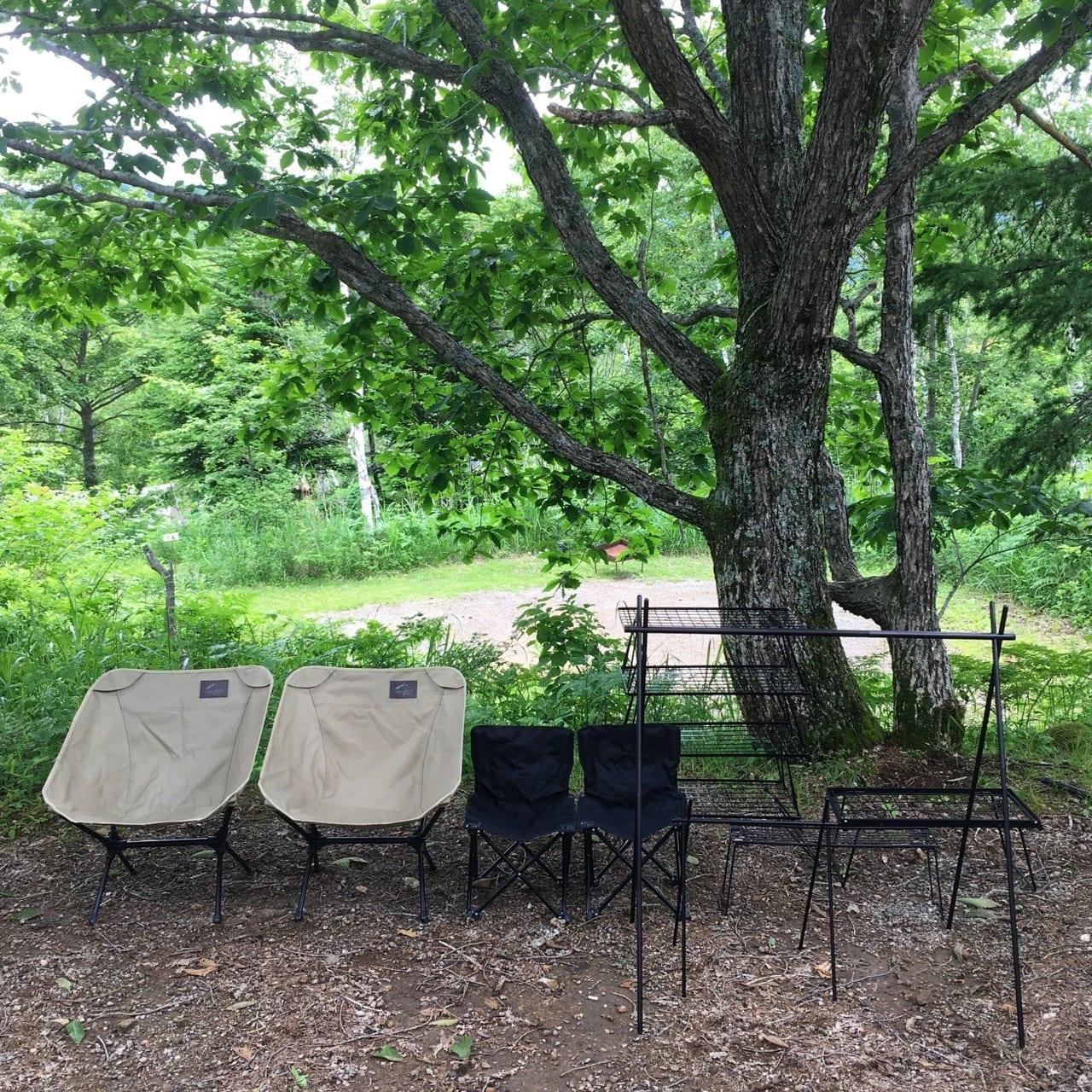 /南乗鞍キャンプ場のサイト写真