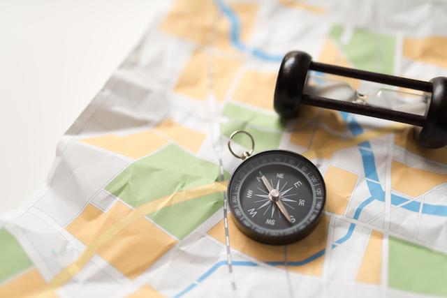/地図とコンパス