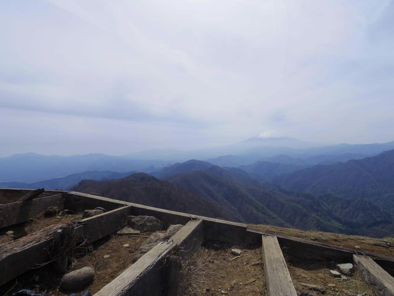 /塔の岳の景色