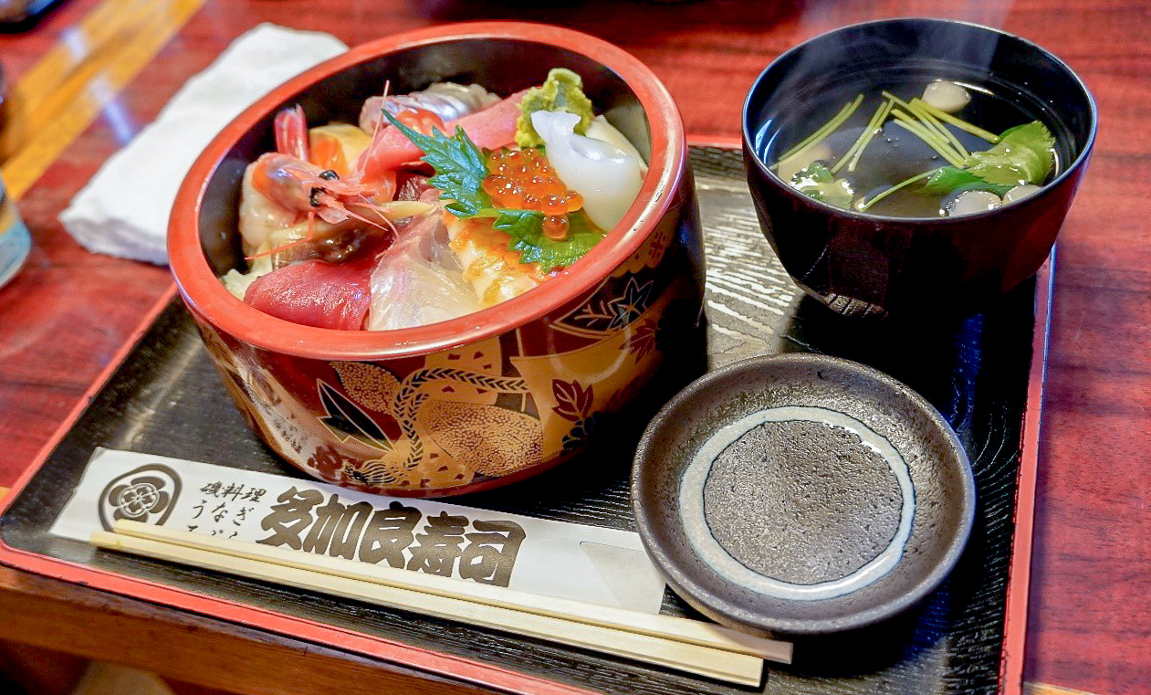 /多加良寿司の海鮮料理