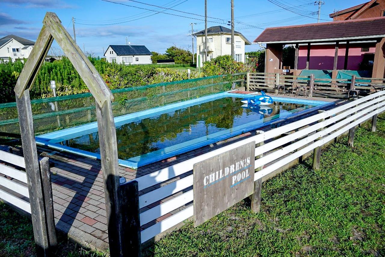 /子供用のプール「ジャブジャブ池」