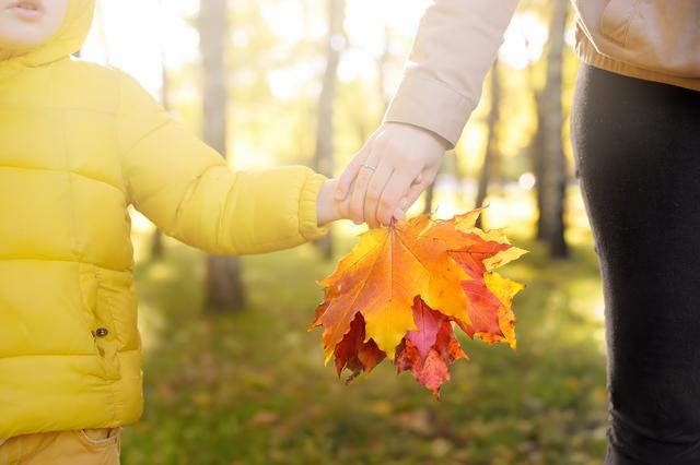 /子供用の可愛い秋冬キャンプウェア