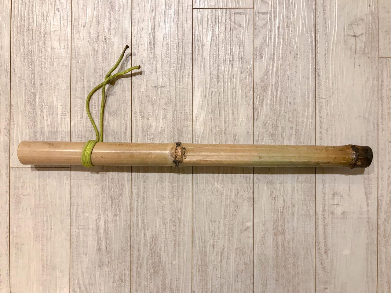 /手作りの火吹き竹