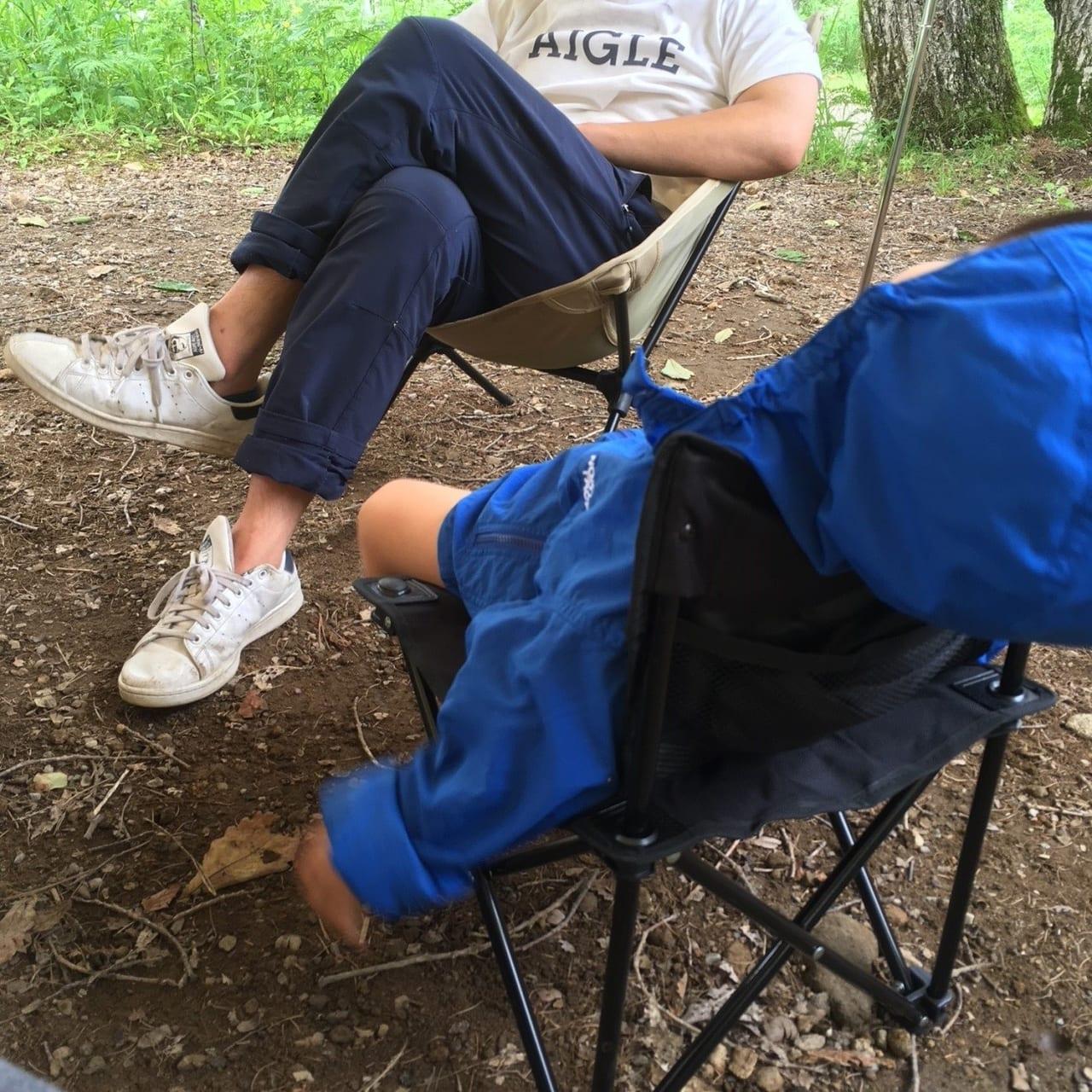 /時短で子供達とのんびりキャンプ