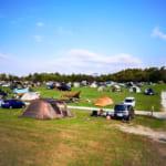 森のまきばオートキャンプ場の外観