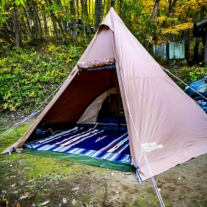 /母子キャンプに大切なテント選び