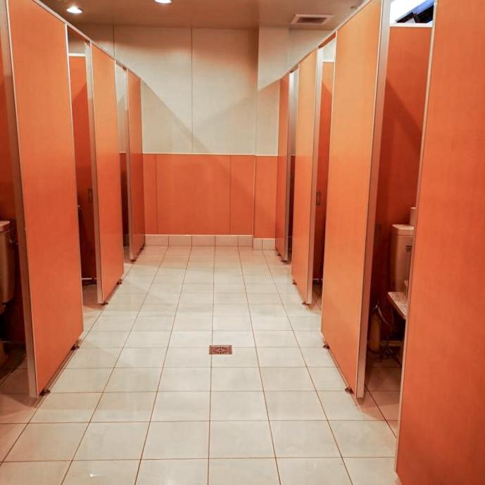 /清里中央オートキャンプ場のトイレ