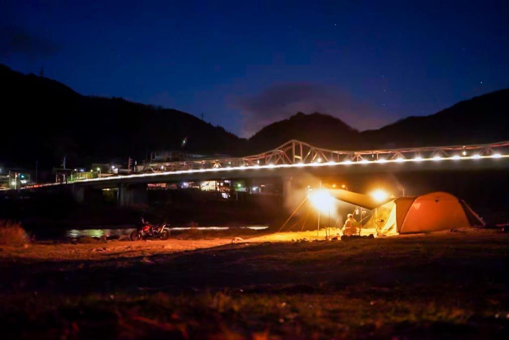 /笠置橋の夜景-1024x684