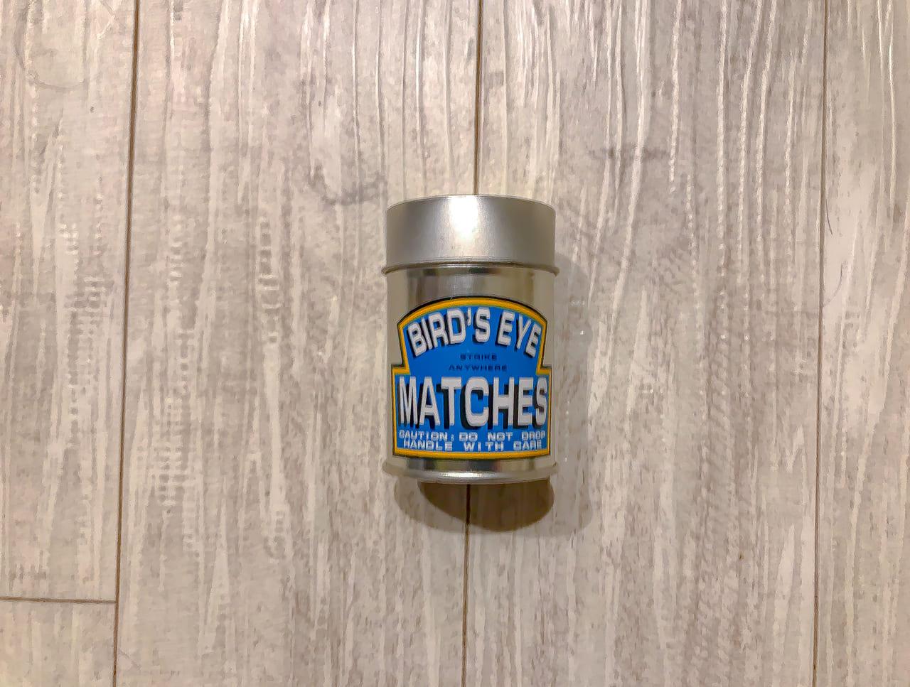 /缶マッチ