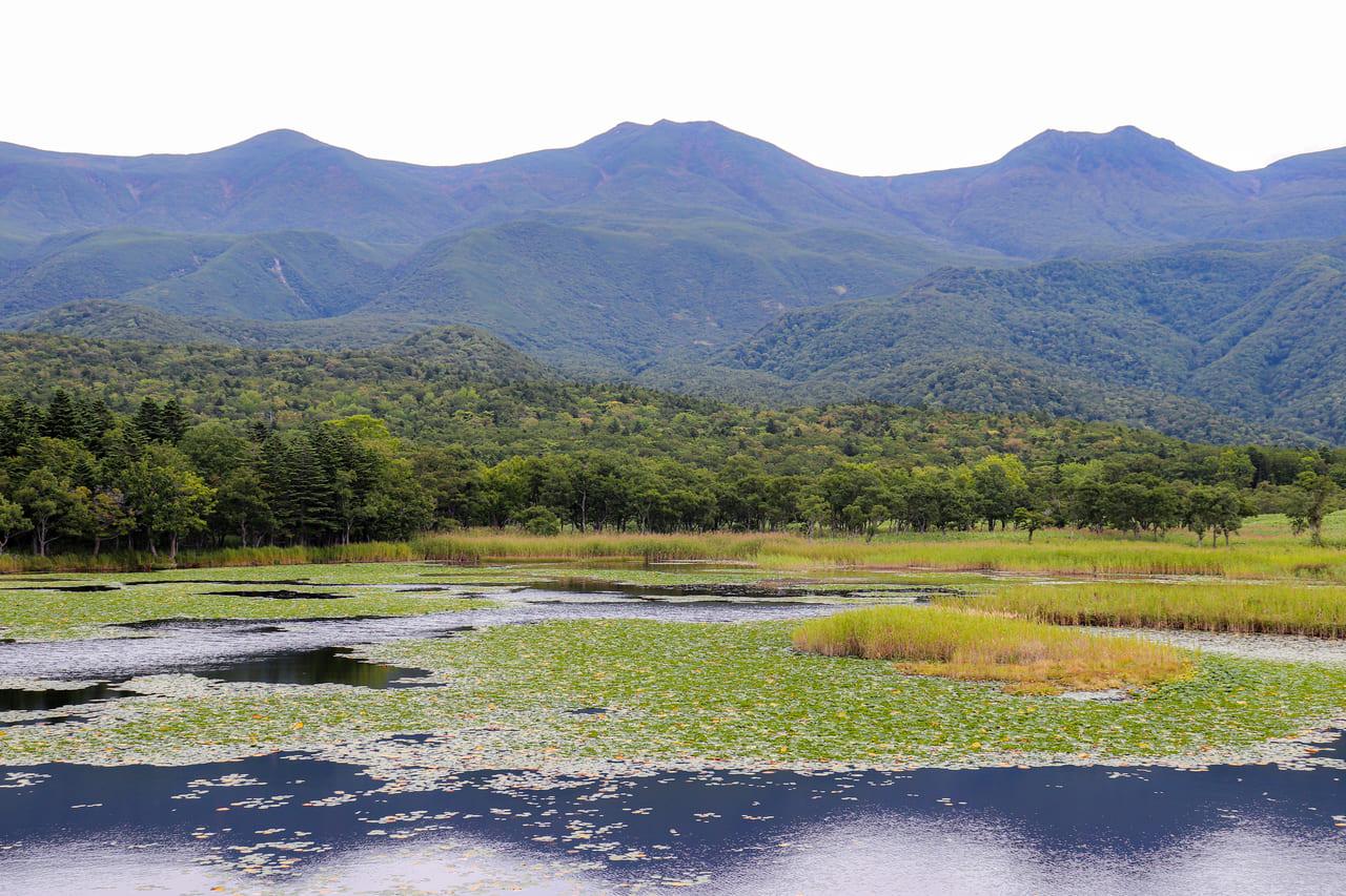 /美しい景色が広がる知床連山