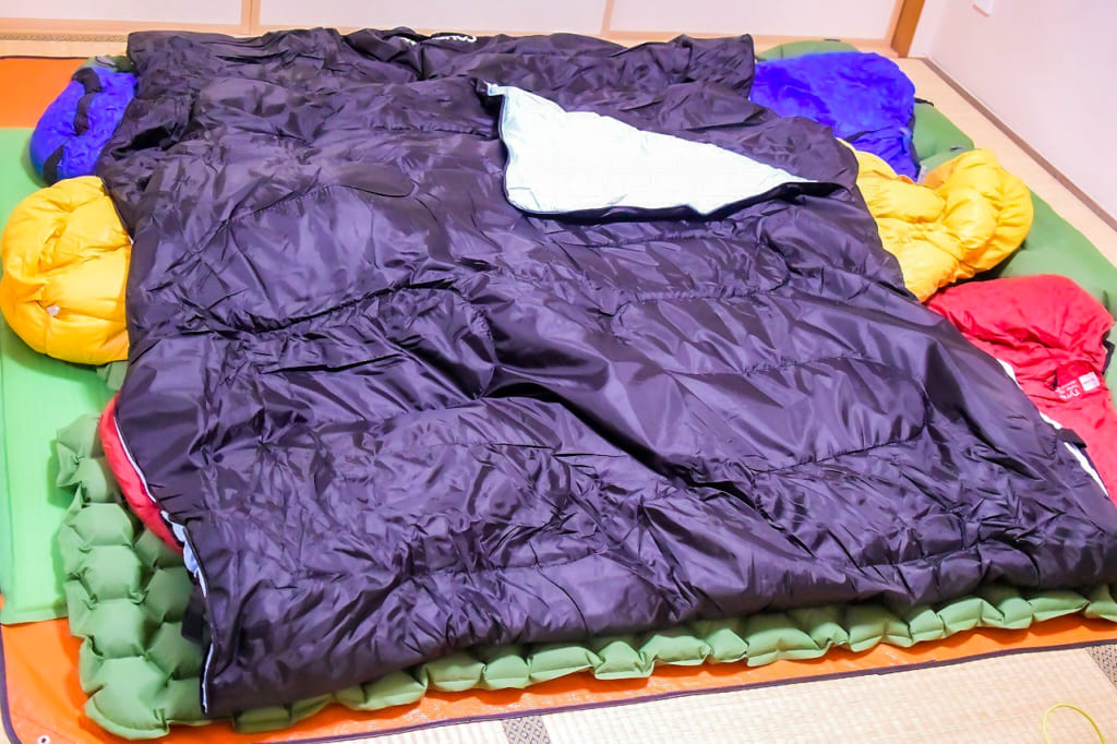 色んな経験をした上で揃えられた冬キャンプの寝具-1024x682