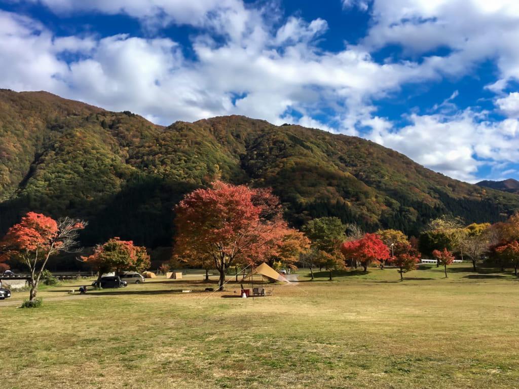 麻那姫湖青少年旅行村のフリーサイト-1024x767