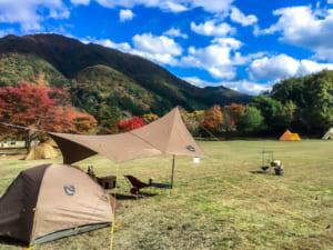 麻那姫湖青少年旅行村オートキャンプ場