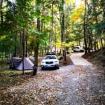 黒坂オートキャンプ場で山梨ワインと夜景を楽しむ母子キャンプに挑戦
