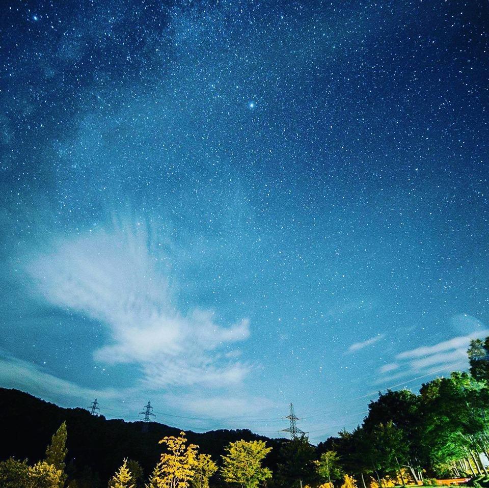 七ヶ宿オートキャンプ場きららの森で満天の星空を独り占めしよう!