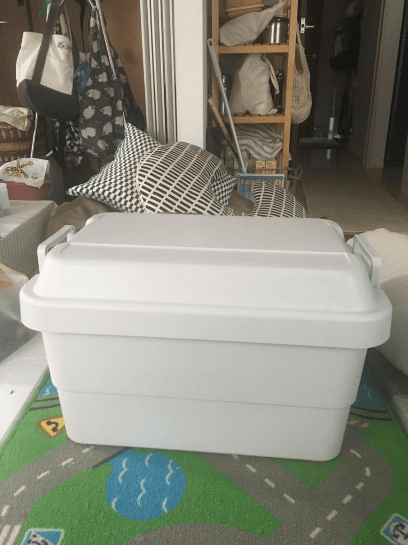 無印良品-ポリプロピレン頑丈収納ボックス