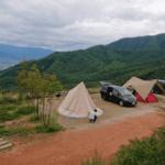 絶景温泉に大感激!ほったらかしキャンプ場は噂通りの人気キャンプ場