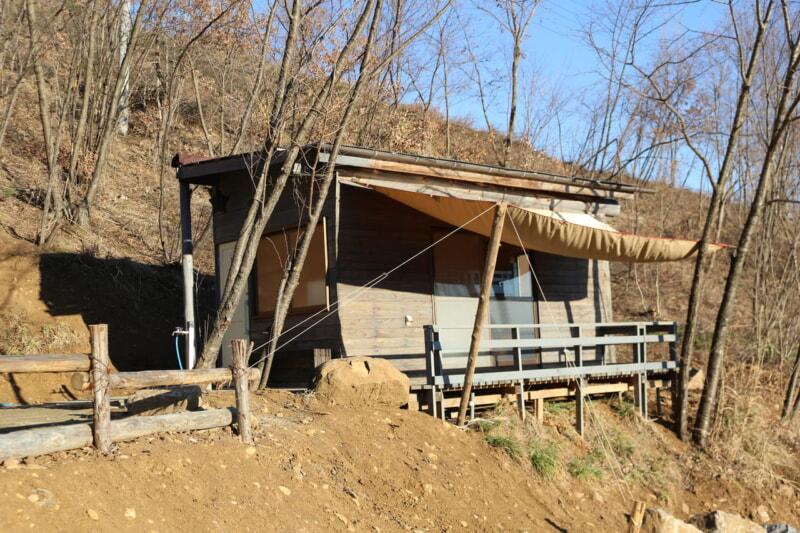 ほったらかしキャンプ場の親戚の森さん家
