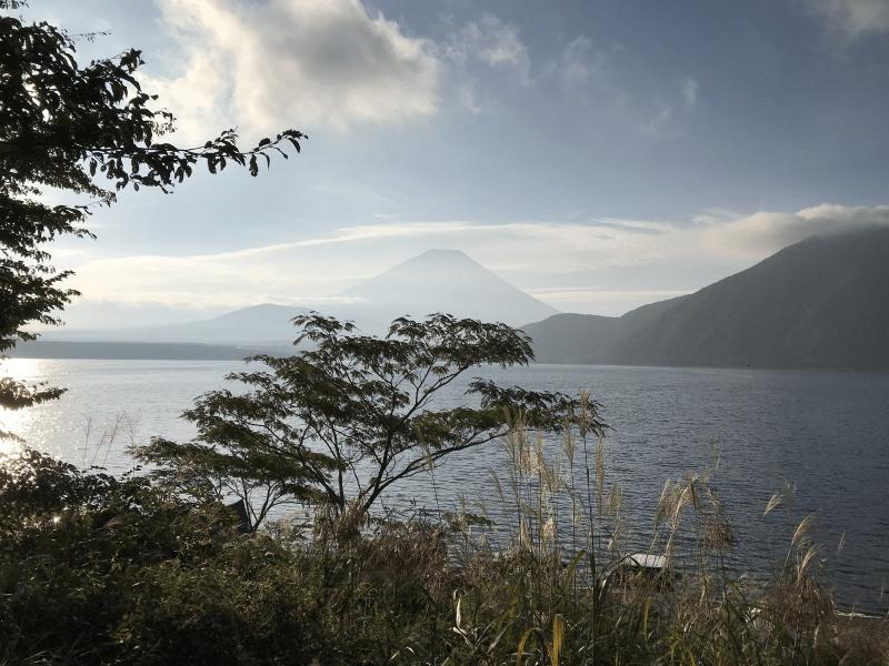 サイトからの富士山の眺め