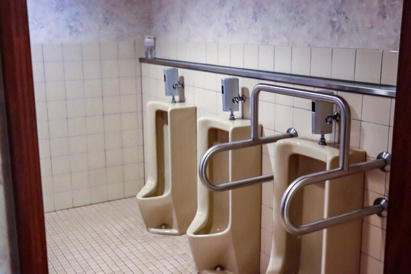 センターハウス内のトイレ