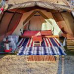 【お座敷スタイルレイアウト】ランドロックで子供と一緒に冬キャンプを楽しむ装備紹介