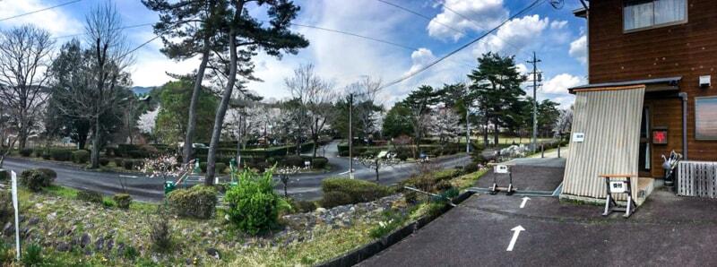 福岡ローマン渓谷オートキャンプ場の全景