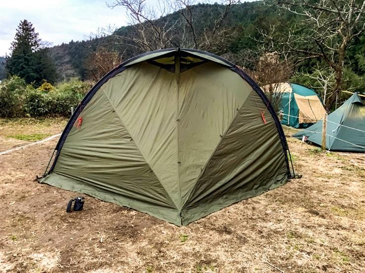 CAZUキャンプ場の10番サイト