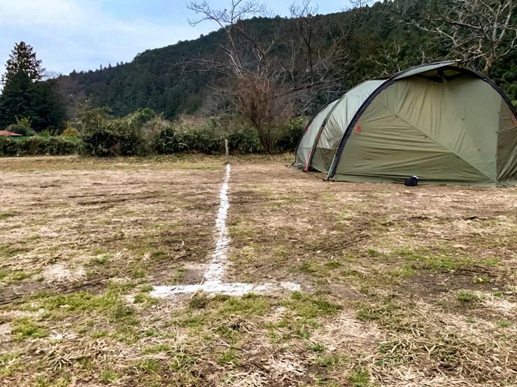 CAZUキャンプ場はサイト指定はできない