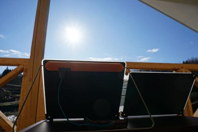 災害時にも使えるバイオライトソーラーパネル10プラスの発電性能を実測してみた