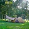 福井の温泉が隣接したおすすめキャンプ場「たけくらべ広場」を紹介します