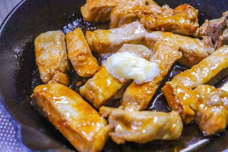 スキレットの豚肉料理レシピ