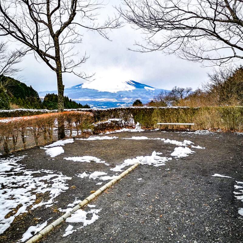 富士山側のサイトから見える景色
