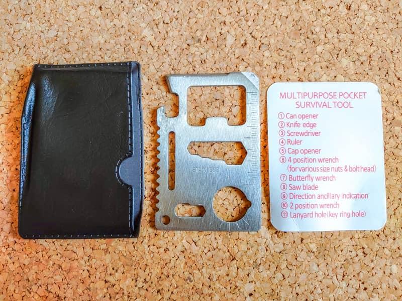 救急キットに入っている謎の金属カード