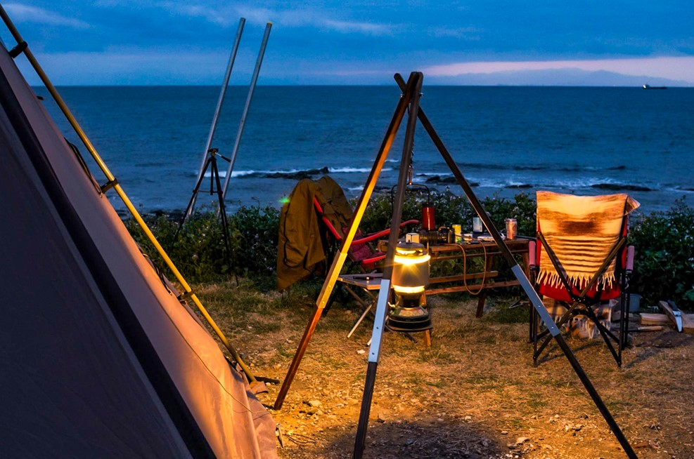 自作した一点物のギアでキャンプをする楽しみ