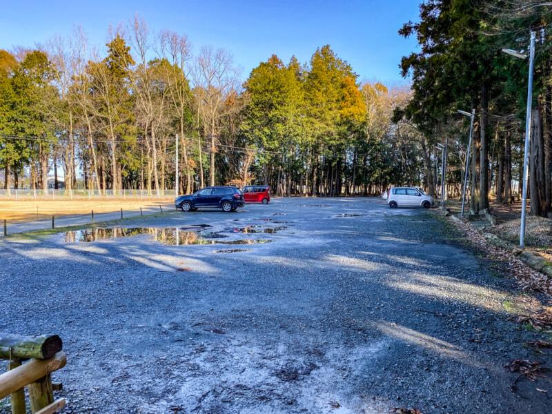豊里ゆかりの森の第2駐車場