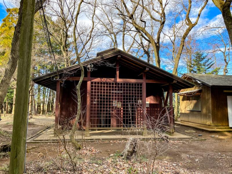 豊里ゆかりの森キャンプ場の炊事場