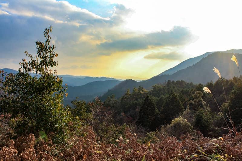 里山から見える息をのむような光景