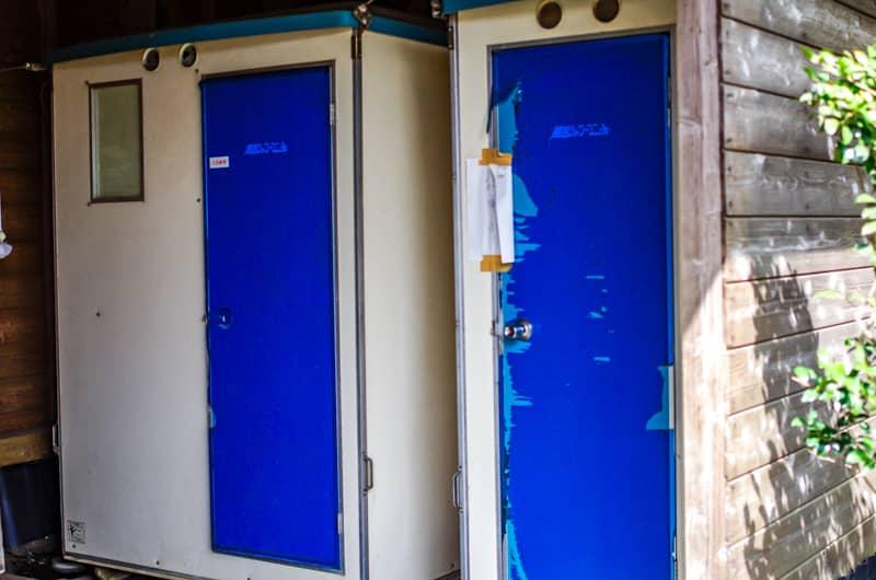 やまぼうしオートキャンプ場のシャワー