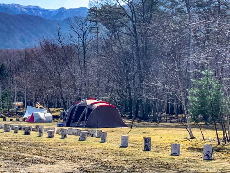 デイキャンプサイト