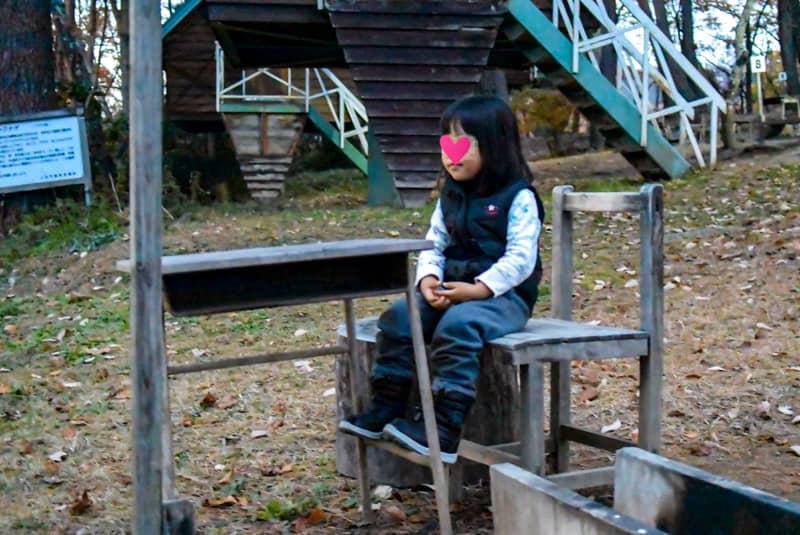 市民の森キャンプ場のバーベキュー場